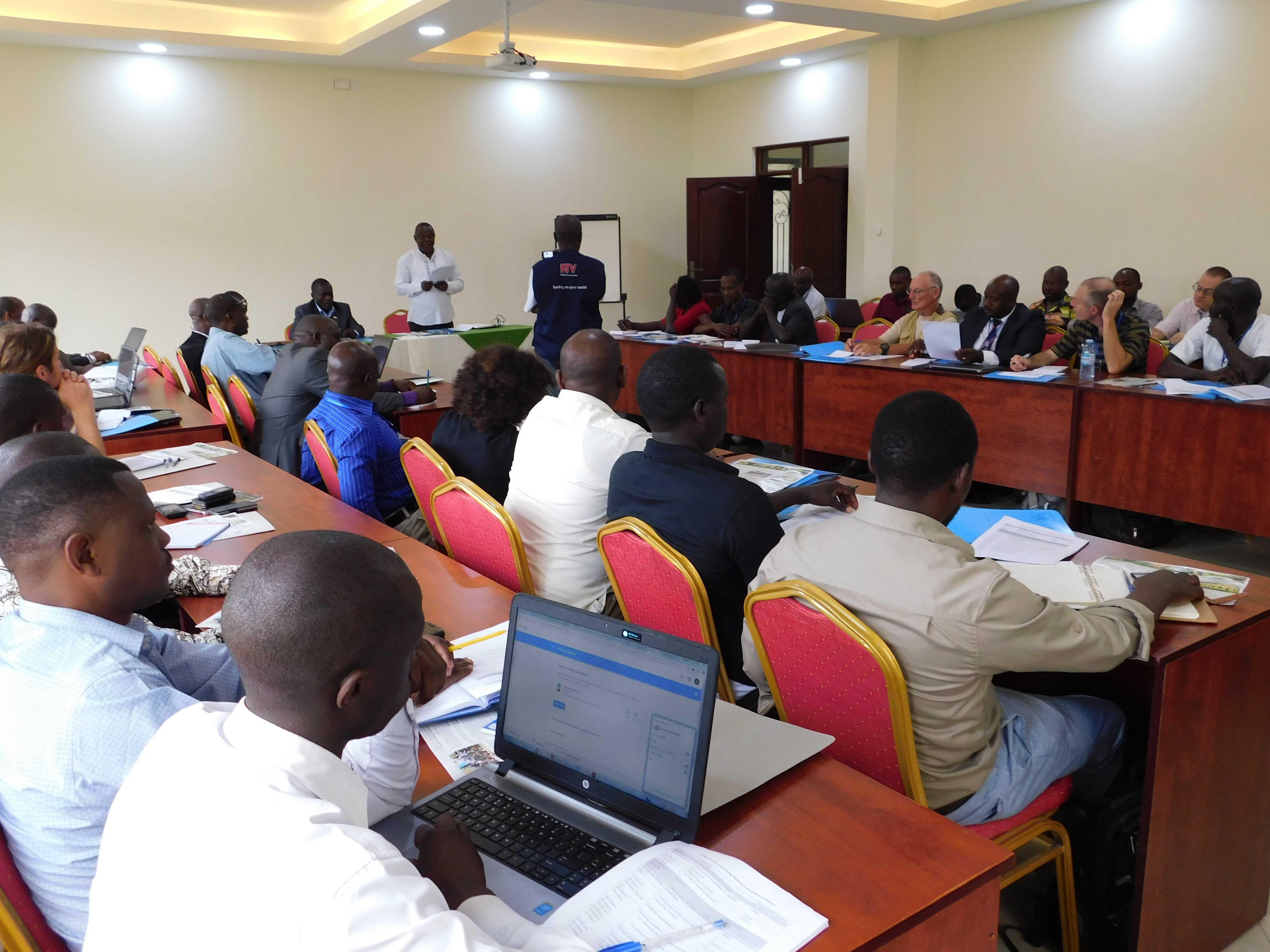 Uganda Wildlife Research Training Institute at a Wild Life Workshop