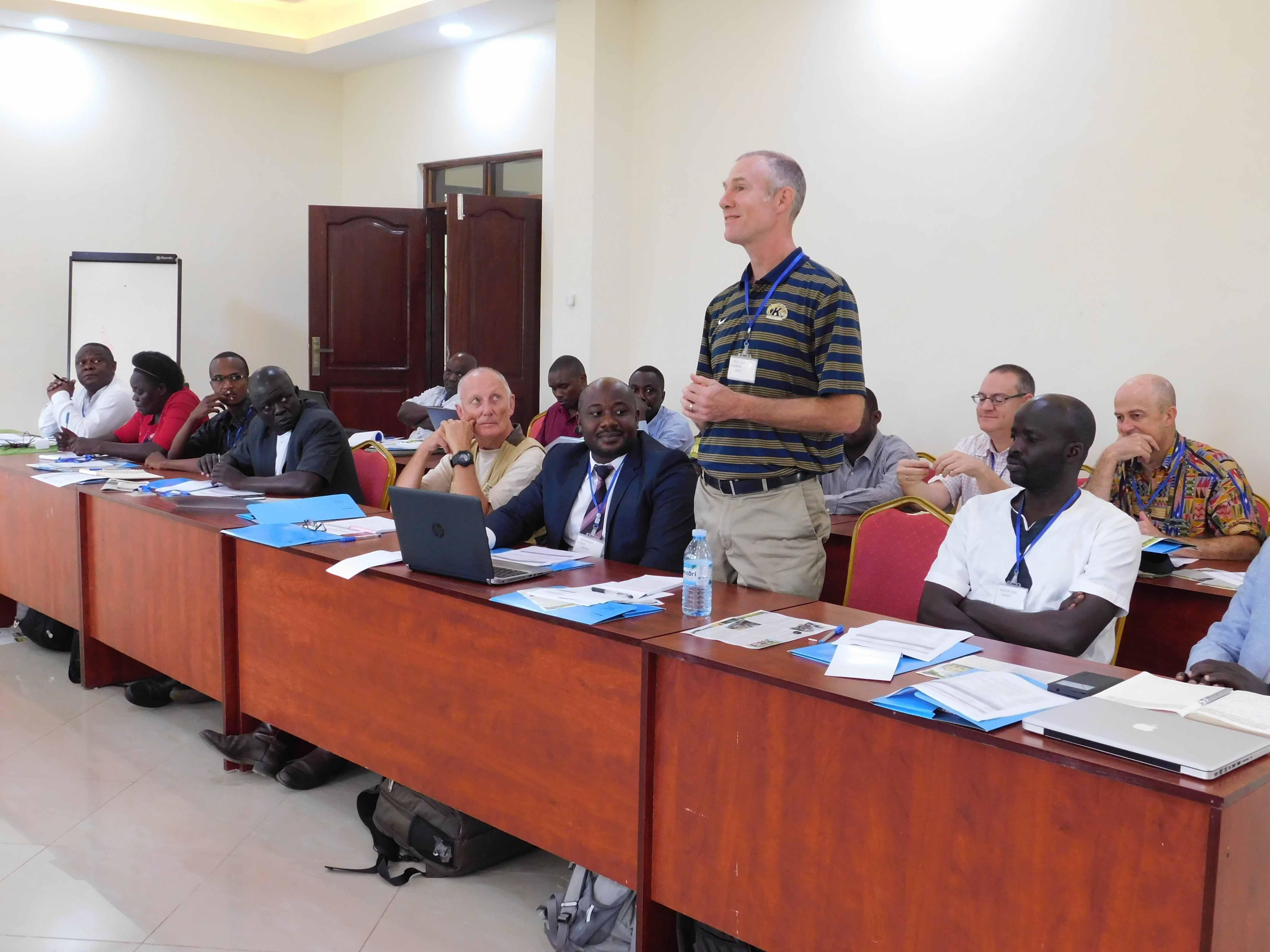 Uganda Wildlife Research Training Institute at a Wild- Life- Workshop
