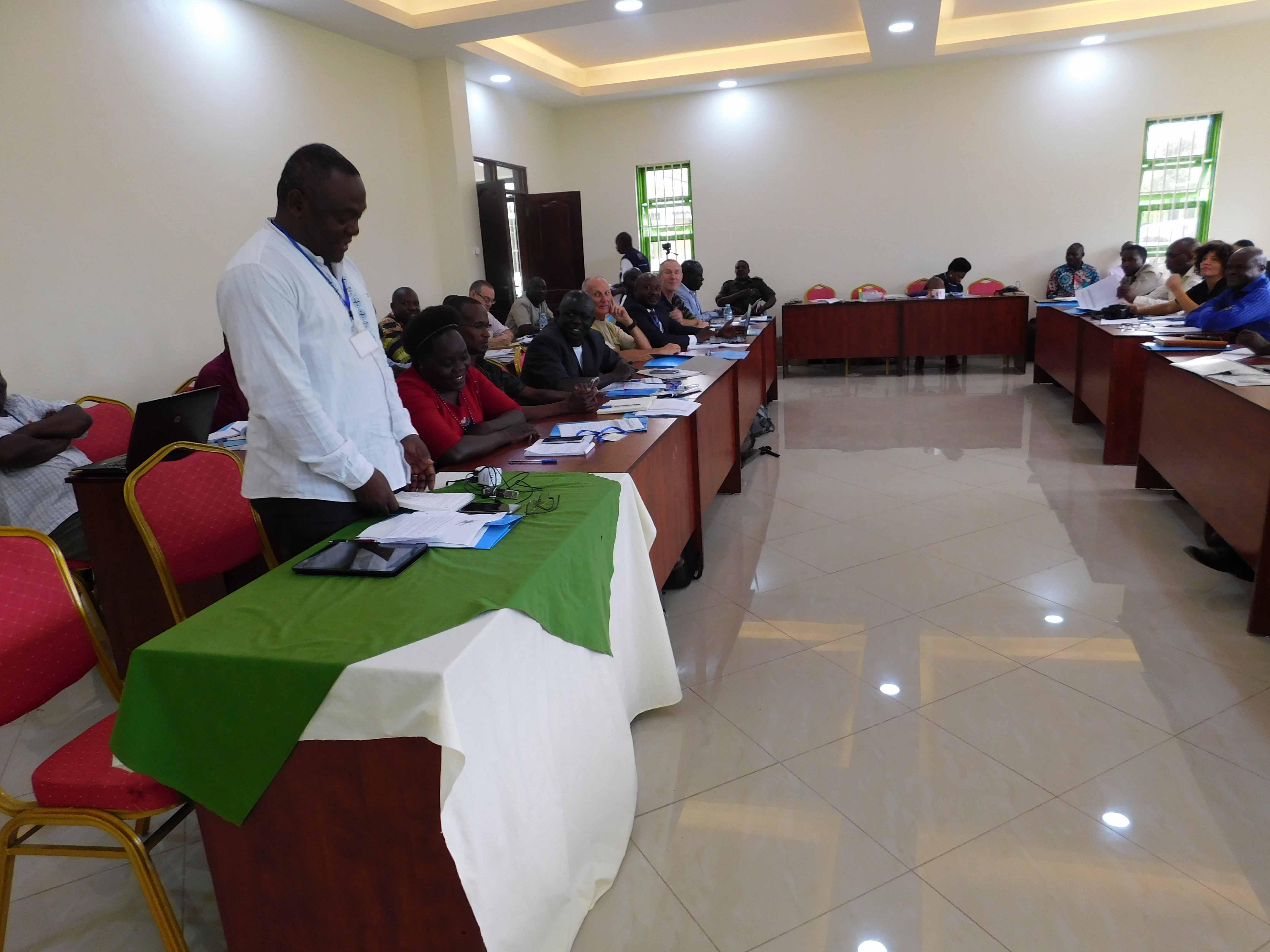 Uganda Wildlife Research Training Institute at a- Wild- Life Workshop